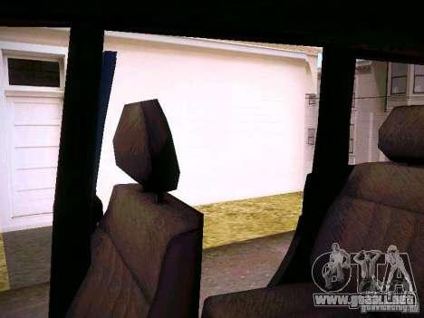 UAZ Patriot 3160 para vista inferior GTA San Andreas