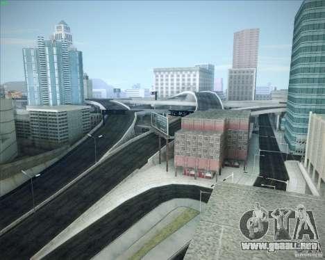 Nuevos caminos alrededor de San Andreas para GTA San Andreas octavo de pantalla