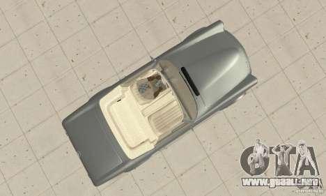 Mercedes-Benz 280SL (Matt) para la visión correcta GTA San Andreas