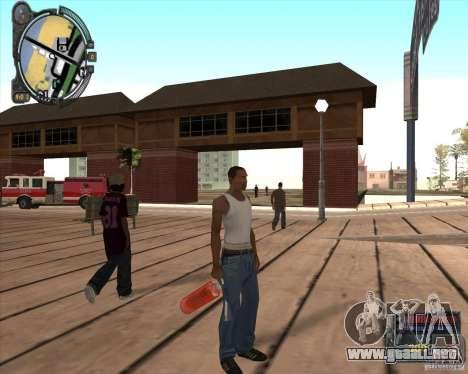 S.T.A.L.K.E.R. Call of Pripyat HUD for SA v1.0 para GTA San Andreas quinta pantalla