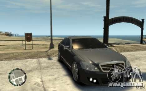 Brabus SV12 R 63 Biturbo w221 para GTA 4