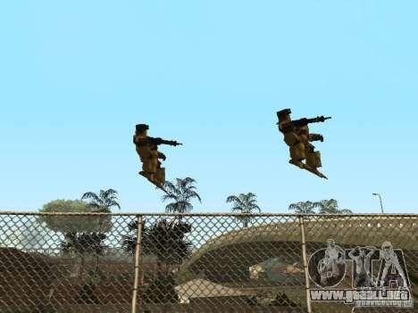 Transformadores para GTA San Andreas sucesivamente de pantalla