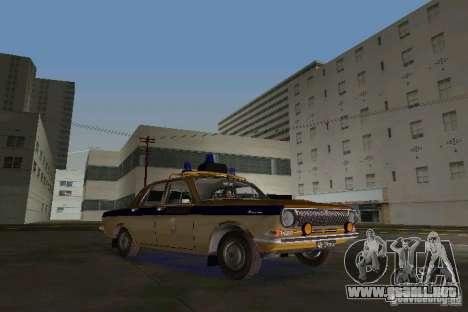 Milicia Gaz-24 para GTA Vice City left