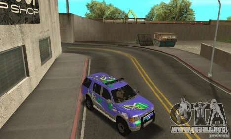 Ford Explorer 2002 para vista inferior GTA San Andreas