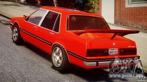 Willard DUB Edition para GTA 4 vista lateral