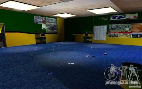 Nueva oficina de Bukmejkerskaâ para GTA San Andreas sexta pantalla