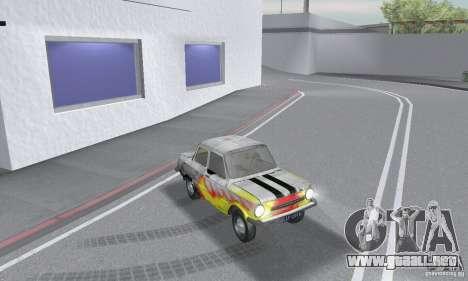 ZAZ 968 m andrajosos para la visión correcta GTA San Andreas