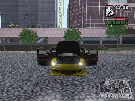 Mazda RX-8 Rockstar para la visión correcta GTA San Andreas
