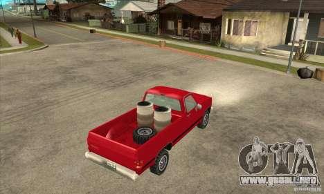 GMC Sierra 2500 para la visión correcta GTA San Andreas
