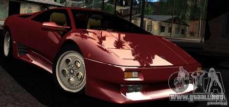 ENBSeries RCM para el PC débil para GTA San Andreas