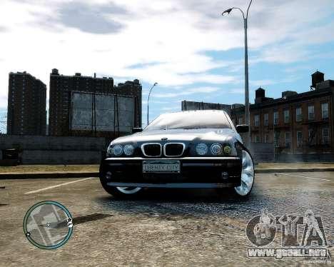 BMW 530I E39 [Final] para GTA 4 vista hacia atrás