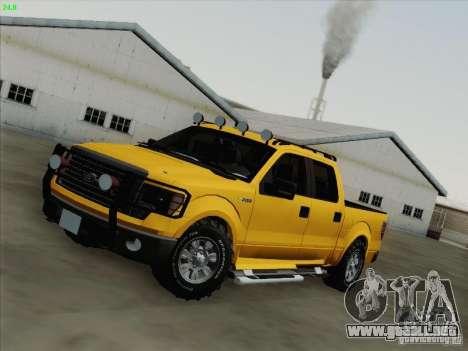Ford F-150 para GTA San Andreas interior