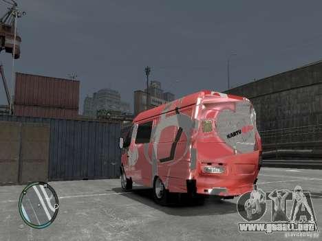 Gacela 2705 Telkomsel Van para GTA 4 vista interior