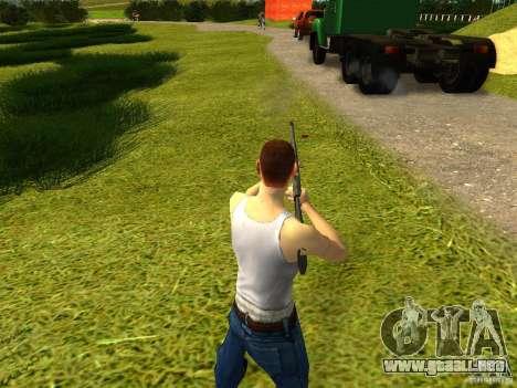 Benelli M4 Super 90 para GTA San Andreas segunda pantalla