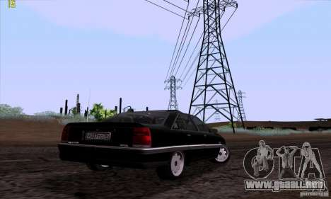 Opel Omega A Diamant Stock para vista lateral GTA San Andreas