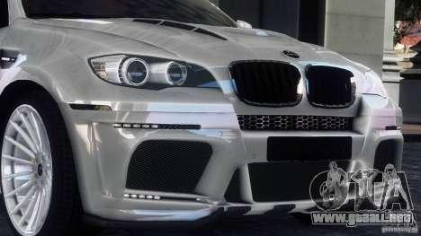 BMW X6 Hamann para GTA 4 left