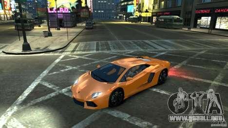 Lamborghini Aventador LP700-4 2011 EPM para GTA 4