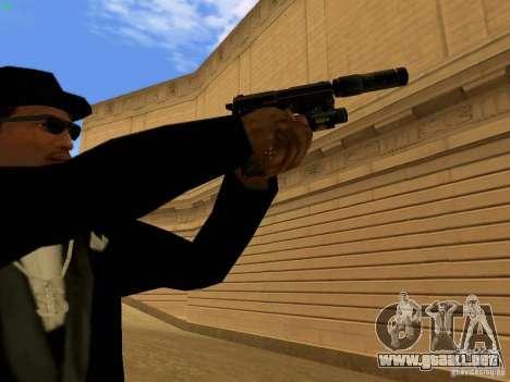 USP45 Tactical para GTA San Andreas sexta pantalla