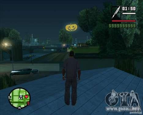 Happy Halloween Mod para GTA San Andreas segunda pantalla