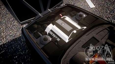 BMW 5 Series E34 540i 1994 v3.0 para GTA 4 vista desde abajo