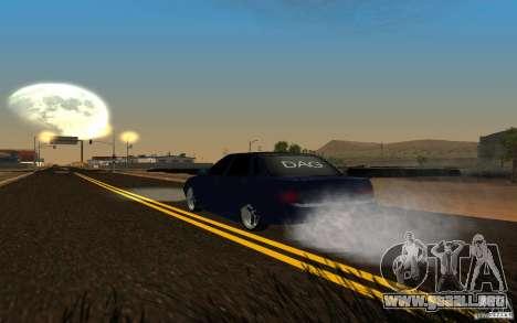 LADA PRIORA coches tuning para GTA San Andreas vista hacia atrás