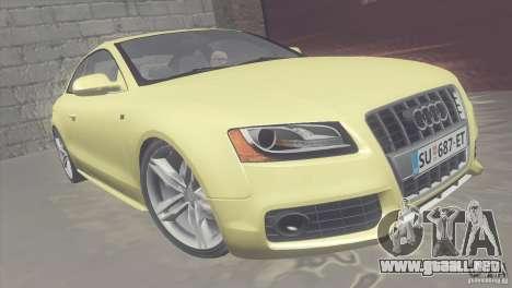 Audi S5 para GTA San Andreas left