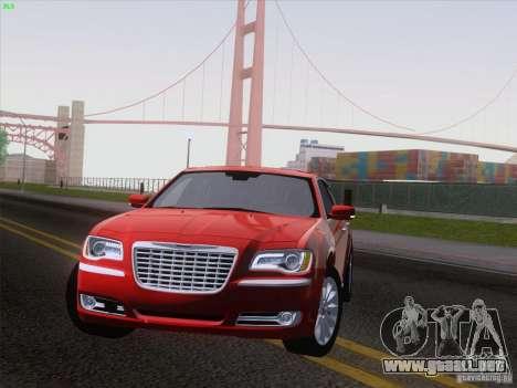 Chrysler 300 Limited 2013 para GTA San Andreas vista posterior izquierda