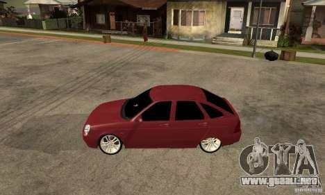 VAZ Lada Priora 2172 LT para GTA San Andreas left