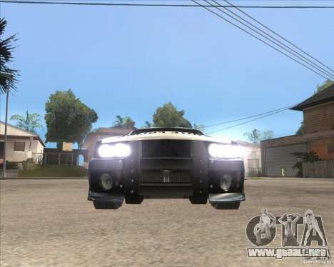 Police NFS UC para GTA San Andreas left