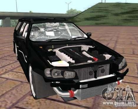 Nissan Stagea para visión interna GTA San Andreas