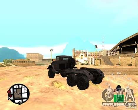 ZIL 131 en para GTA San Andreas left