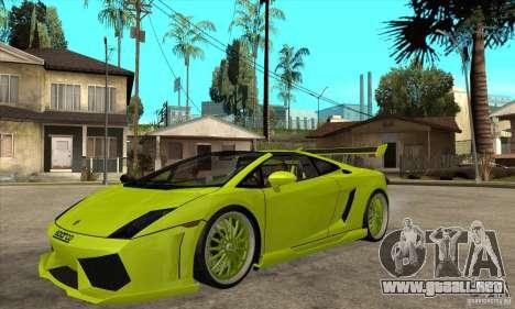 Lamborghini Gallardo LP560-4 Hamann para GTA San Andreas
