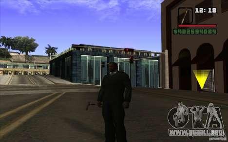 Nuevo bastón para GTA San Andreas segunda pantalla
