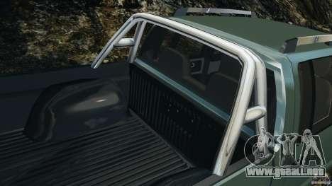 Chevrolet S-10 Colinas Cabine Dupla para GTA 4 ruedas