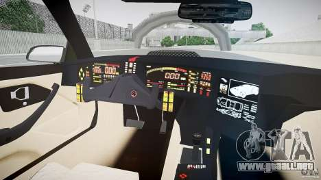 Knight Rider [EPM] para GTA 4 vista hacia atrás
