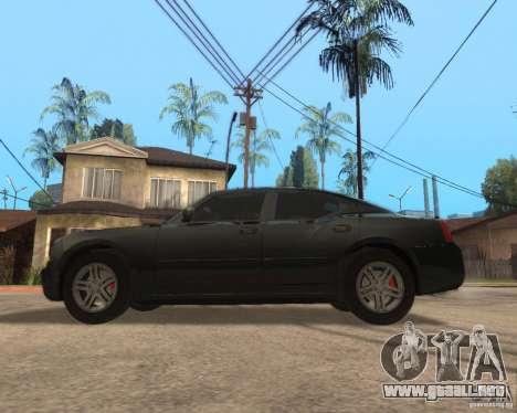 Dodge Charger para GTA San Andreas left