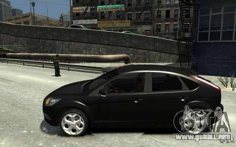 Ford Focus 2009 para GTA 4 left