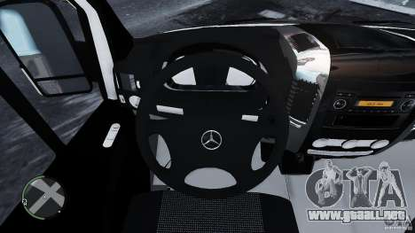 Mercedes-Benz Sprinter Euro 2012 para GTA 4 vista interior