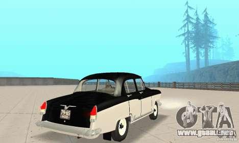 Volga GAZ-21 para GTA San Andreas left