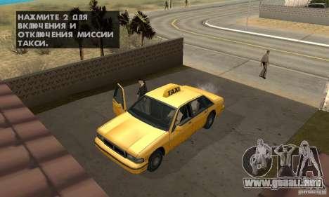 Hipnosis en San Andreas para GTA San Andreas sexta pantalla