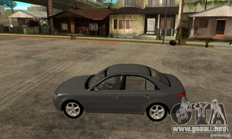 Hyundai Sonata 2008 hd para GTA San Andreas left