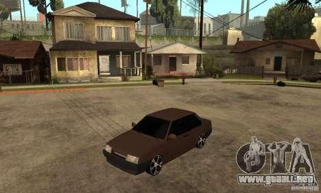 Cupé 21099 Lada ВАЗ para GTA San Andreas
