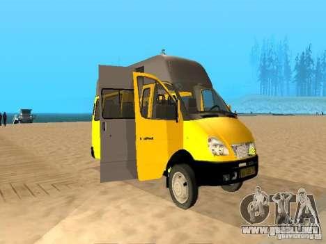 Taxi gacela 32213 para GTA San Andreas left