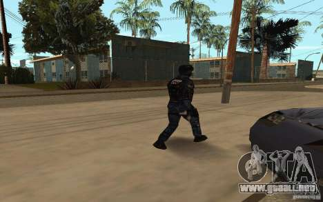Alternative urban para GTA San Andreas sucesivamente de pantalla