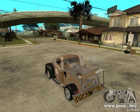 1951 Ford Wrecker para GTA San Andreas left