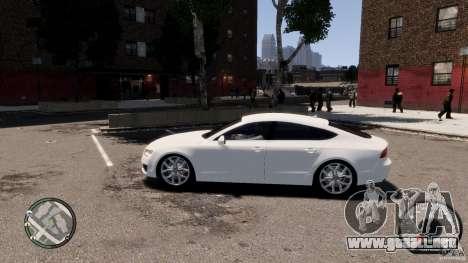 Audi A7 Sportback para GTA 4 left