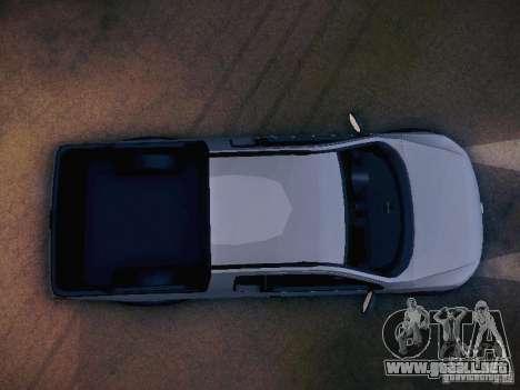 Volkswagen Saveiro Cross para la vista superior GTA San Andreas
