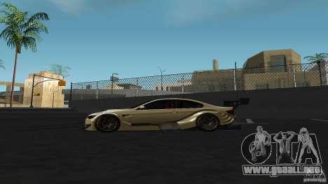 BMW E92 M3 para GTA San Andreas left