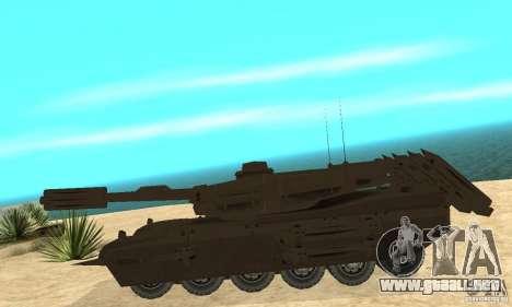 Rinoceronte tanque Megatron para GTA San Andreas left