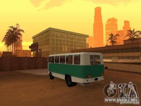G1A1 Kuban para GTA San Andreas vista hacia atrás